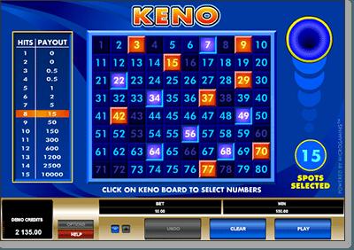 Is keno random