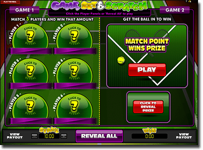 Instant Online Scratchies at Royal Vegas Casino