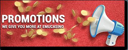 Emu Casino online keno promotions