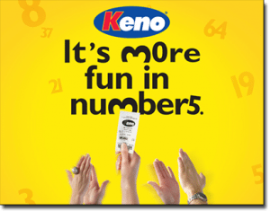 Keno games in South Australia