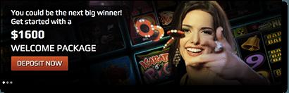 online casino welcome bonus game slots