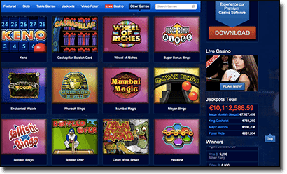 All Slots Casino - Instant Play catalogue of games