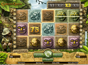 Gonzo's Quest online pokies game for casual casino players