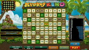 Monkey Keno gameplay demo