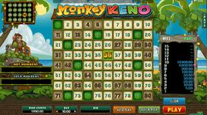 Monkey Keno gameplay demo
