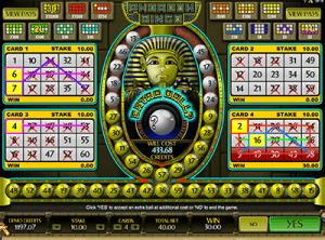 Pharoah Bingo online