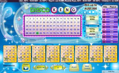 Karamba online casino keno