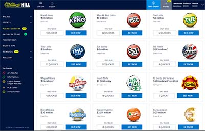Planet Lottery online lottery choices